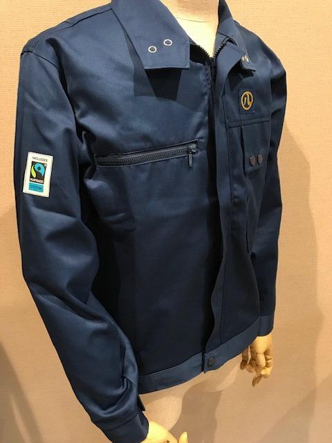フェアトレードタウンなごや、フェアトレード認証コットンを 使用した被服(作業用ウエア)を導入